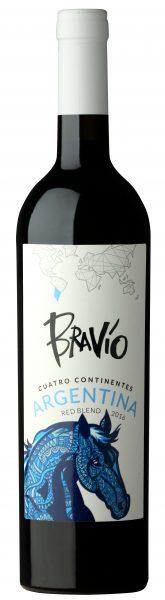 Bravío Cuatro Continentes Red Blend Argentina